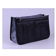 お買い得  コスメティックバッグ-テリレン 化粧ポーチ ジッパー のために カジュアル オールシーズン グレー パープル イエロー コーヒー ピンク