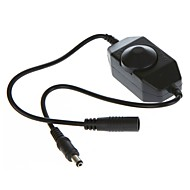 billige belysning Tilbehør-ZDM® 1pc 12-24 V Vanntett / Strip Light Tilbehør / med DC-kontakt Plast Demper Knapp for LED Strip lys 24 W