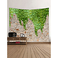 tanie Dekoracje ścienne-Motyw Garden Krajobraz Dekoracja ścienna 100% Polyester Współczesny Nowoczesny Wall Art, Ścienne Gobeliny Dekoracja