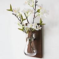 billige Kunstig Blomst-Kunstige blomster 1 Afdeling Rustikt / minimalistisk stil Vase Vægblomst