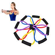 baratos Equipamentos & Acessórios Fitness-ao ar livre durável corda oito puxar com alça confortável para a ioga