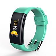 tanie Inteligentne zegarki-Inteligentne Bransoletka Ekran dotykowy Wodoszczelny Spalone kalorie Krokomierze Obsługa aparatu Wielofunkcyjne Obsługa wiadomości