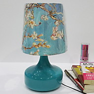 billige Lamper-Traditionel / Klassisk Krystall / Dekorativ Bordlampe Til Metall 220-240V Blå / Hvit / Gul