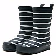 baratos Sapatos de Menino-Para Meninos / Para Meninas Sapatos Borracha Outono / Inverno Botas de Chuva Botas para Azul Escuro / Vermelho