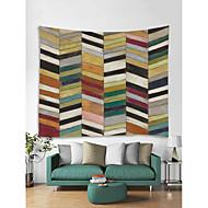 billige Veggdekor-Arkitektur Tegneserie Veggdekor 100% Polyester Moderne Veggkunst, Veggtepper Dekorasjon