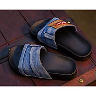 tanie Obuwie chłopięce-Dla dziewczynek Dla chłopców Buty Jeans Wiosna Lato Comfort Sandały na Casual Dark Blue Light Blue