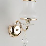 baratos Luzes para Espelho-Antirreflexo Vintage Iluminação do banheiro Metal Luz de parede 220-240V 40W