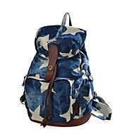 baratos Mochilas-Unisexo Bolsas mochila Estampa para Ao ar livre Azul Escuro / Cinzento Claro / Azul Real