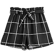 Dámské Základní Kalhoty chinos Kalhoty Geometrický