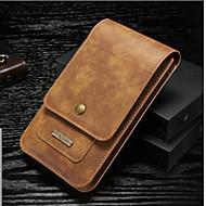 billiga Mobil cases & Skärmskydd-dg.ming väska för huawei p10 / p9 plånbok / korthållare påse väska solidfärgad hård äkta läder för p10 plus / p10 lite / p10