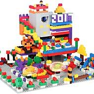 Costruzioni Giocattoli da costruzione Gioco educativo 1350 pcs Classico compatibile Legoing Da ragazzo Da ragazza Giocattoli Regalo