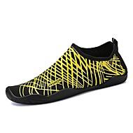 baratos Sapatos Masculinos-Homens Solas Claras Elastano Verão Conforto Tênis Água / Tênis Anfíbio Cinzento / Amarelo / Azul