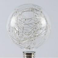 billige Globepærer med LED-1pc 1W - lm E26/E27 LED-globepærer 20pcs LED perler SMD Stjernefull Varm hvit RGB 200-240V