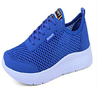 cheap Extended-Size Shoes-Men's Shoes Rubber Spring Fall Comfort Sneakers Lace-up for Outdoor Black Light Grey Royal Blue
