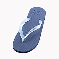 baratos Sapatos Masculinos-Homens Sintético Verão Conforto Chinelos e flip-flops Amarelo / Verde / Azul