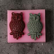 billige Bakeredskap-Bakeware verktøy Silikon Ferie / 3D-tegneseriefigur / Kreativ Kake / Sjokolade / For kjøkkenutstyr Cake Moulds 1pc