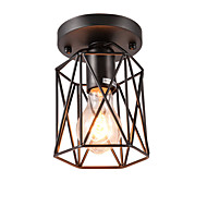 cheap Ceiling Lights & Fans-OYLYW Flush Mount Ambient Light - Mini Style, Retro / Vintage Traditional / Classic, 110-120V 220-240V Bulb Not Included