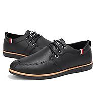 Homens sapatos Micofibra Sintética PU Primavera / Outono Solados com Luzes Tênis Preto / Marron / Verde Tropa