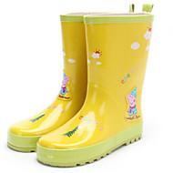 tanie Obuwie chłopięce-Dla dziewczynek Dla chłopców Buty Guma Jesień Zima Gumowce Buciki Kozaki do połowy łydki na Casual Na wolnym powietrzu Yellow Niebieski