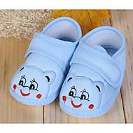 お買い得  ベビー用靴-赤ちゃん 靴 コットン 春 / 秋 赤ちゃん用靴 フラット のために ベージュ / ピンク / ライトブルー