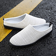 tanie Obuwie męskie-Męskie Komfortowe buty Jeans Wiosna / Jesień Mokasyny i buty wsuwane Beżowy / brązowy / Królewski niebieski