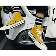 お買い得  メンズスニーカー-男性用 靴 キャンバス 春 / 秋 コンフォートシューズ スニーカー ホワイト / ブラック / イエロー