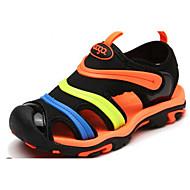 baratos Sapatos de Menino-Para Meninos Sapatos Tule Verão Conforto Sandálias para Preto / Vermelho / Preto / verde / Laranja e Preto