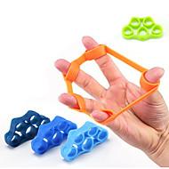 tanie Inne akcesoria fitness-1pcs Gumy do ćwiczeń Ściskacz do dłoni Siła Trainer Fitness praca Elastyczny Gumowy Elastyczny Wydajność