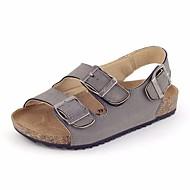 baratos Sapatos de Menino-Para Meninos / Para Meninas Sapatos Courino Verão Conforto Sandálias para Cinzento / Vermelho / Azul
