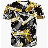 Majica s rukavima Muškarci-Vojni Dnevno Geometrijski oblici