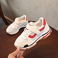 baratos Sapatos de Menino-Para Meninos Sapatos Tule Primavera Conforto Tênis para Crianças Branco / Preto