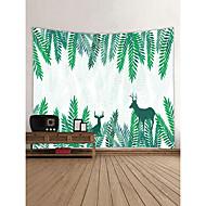 billige Veggdekor-Dyr Eventyr Tema Veggdekor 100% Polyester Moderne Veggkunst, Veggtepper Dekorasjon