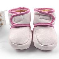 お買い得  ベビー用靴-赤ちゃん 靴 繊維 冬 赤ちゃん用靴 ブーツ のために イエロー / レッド / ブルー