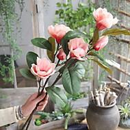 billige Kunstig Blomst-Kunstige blomster 1 Afdeling Rustikt / Europæisk Orkideer Gulvblomst