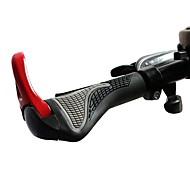 ハンドルバー バイク マウンテンバイク 人間工学デザイン Aluminum Alloy ゴム - 2pcs ホワイト ブラック レッド ブルー