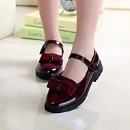 baratos Sapatos de Menina-Para Meninas Sapatos Couro Ecológico Primavera / Outono Sapatos para Daminhas de Honra Tênis para Crianças Preto / Vermelho / Vinho
