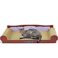 Χαμηλού Κόστους Παιχνίδια για γάτες-Μέθοδος Scratch Πολυτέλεια Φιλικό προς τα Κατοικίδια Πολύχρωμο Μπλοκ για ξύσιμο νυχιών Χωρίς Paraben Χαρτί Τέχνης Χαρτόνι Για Γάτες