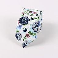 Męskie Vintage / Impreza Krawat Kwiaty
