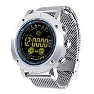 tanie Inteligentne zegarki-Inteligentny zegarek Wielofunkcyjny Współpracuje z iOS i system Android. Spalone kalorie Kontrola APP Powiadamianie o połączeniu