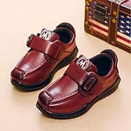 baratos Sapatos de Menino-Para Meninos Sapatos Pele Primavera Conforto Mocassins e Slip-Ons para Crianças Amarelo / Vermelho / Azul / TR