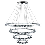 cheap Ceiling Lights & Fans-Chandelier Ambient Light - Crystal Dimmable LED Dimmable With Remote Control, Tiffany Country Traditional / Classic Modern / Contemporary