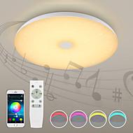 voordelige Verlichting-1pc 72W 720 LEDs Bluetooth Speaker / Afstandsbediening / Dimbaar Plafondlampen Warm wit / Koel wit / Natuurlijk wit 110-240V Woonkamer /