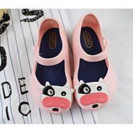 baratos Sapatos de Menina-Para Meninas Sapatos PVC Verão Conforto / Plástico Sandálias para Preto / Azul / Rosa claro