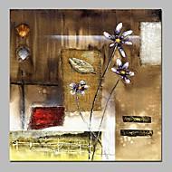 billiga Stilleben-Hang målad oljemålning HANDMÅLAD - Stilleben / Blommig / Botanisk Vintage Duk