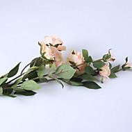 billige Kunstig Blomst-Kunstige blomster 1 Afdeling Rustikt Tulipaner Gulvblomst