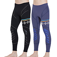 Men's Wetsuit Pants 1.5mm CR Neoprene Tights Bottoms Ultraviolet Resistant Knee Pads - Outdoor Exercise Diving / Boating Watersports Solid Colored Spring, Fall, Winter, Summer / Stretchy