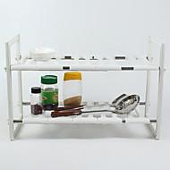 billiga Köksförvaring-Kök Organisation Skåp Tillbehör Rostfritt stål Förvaring 1st