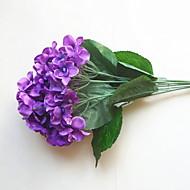 billige Kunstig Blomst-Kunstige blomster 1 Afdeling minimalistisk stil / Bryllup Hortensiaer Bordblomst