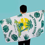 tanie Ręcznik plażowy-Najwyższa jakość Ręcznik plażowy, Geometryczny / Kwiatowy / roślinny Bawełniano-poliestrowy 1 pcs