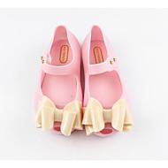 baratos Sapatos de Menina-Para Meninas Sapatos PVC Primavera Verão Plástico Sandálias Laço para Infantil Dourado / Preto / Rosa claro / Festas & Noite